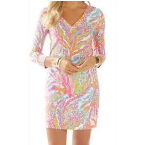 Lilly Pulitzer Dresses - Lilly Pulitzer Christine Dress Scuba to Cu…